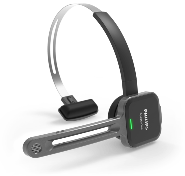 Philips SpeechOne dicteerheadset voor spraakherkenning