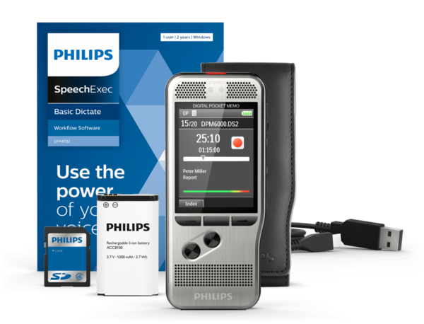 Philips DPM 6000 - Digital Pocket Memo