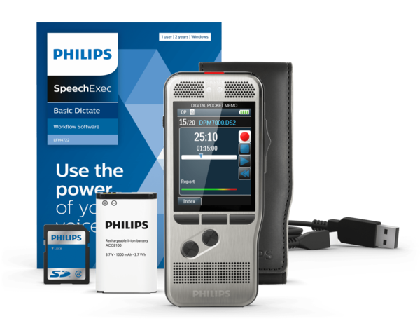 Philips DPM 7200 Digital Pocket Memo