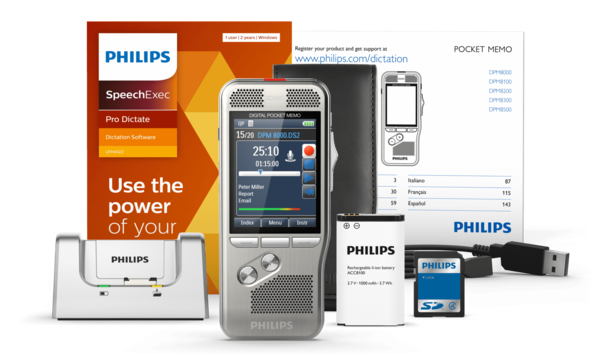 Philips DPM 8000 Digital Pocket Memo