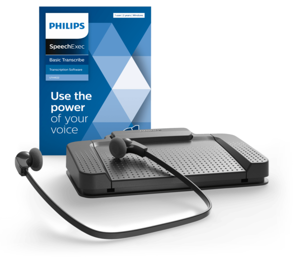 Philips LFH 7177 SpeechExec Transcriptieset