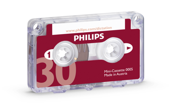 Philips LFH 0005 PocketMemo Minicassette 10 pack